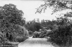 Tenbury Wells, St Michael's Church And College 1898