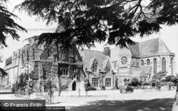 Tenbury Wells, St Michael's College And Chapel c.1965