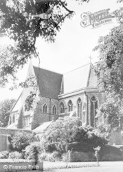 Tenbury Wells, St Michael's College Chapel From South East c.1965