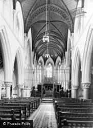 Tenbury Wells, St Michael's College Chapel, Interior c.1965