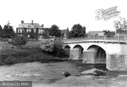 Tenbury Wells, Swan Hotel 1898