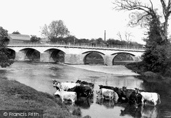 Tenbury Wells, Teme Bridge 1898