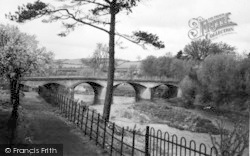 Tenbury Wells, Teme Bridge c.1950