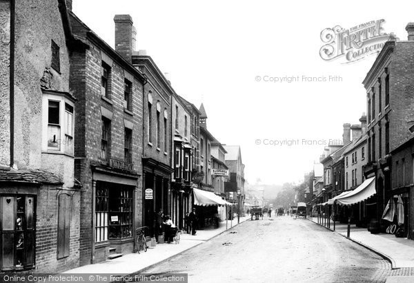 Photo of Tenbury Wells, Teme Street 1898, ref. 41722