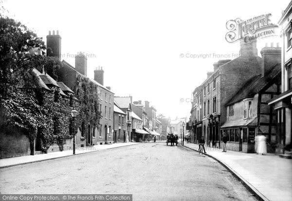Tenbury Wells, Teme Street 1898. © Copyright The Francis Frith Collection 2012.