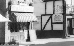 Tenbury Wells, Teme Street, Bicycle Shopl c.1965