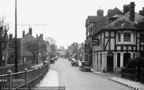Tenbury Wells, Teme Street c1939. © Copyright The Francis Frith Collection 2012.