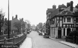 Tenbury Wells, Teme Street c.1939