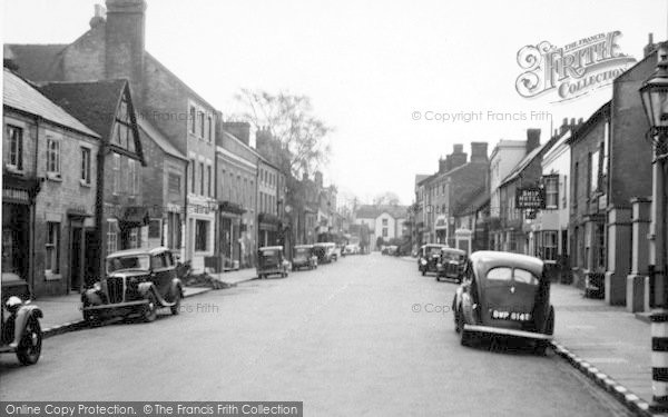Photo of Tenbury Wells, Teme Street c.1950