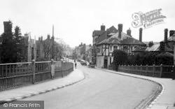 Tenbury Wells, Teme Street From The Bridge c.1950