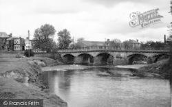 Tenbury Wells, The Bridge c.1950