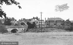 Tenbury Wells, The Bridge c.1955