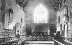 Tenbury Wells, The Church Interior 1898