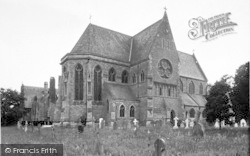 Tenbury Wells, The Collegiate Church Of St Michael And All Angels c.1955