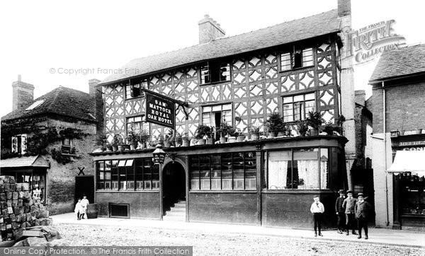 Photo of Tenbury Wells, the Royal Oak Hotel 1892, ref. 30849