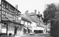 Tenbury Wells, The Royal Oak Hotel c.1965