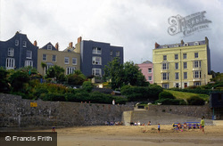 A View From Iron Bar Sands c.2000, Tenby