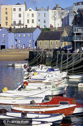 A View From The Mayor's Slip c.2000, Tenby