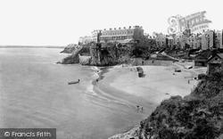 Tenby, Castle Sands 1925