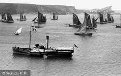 Tenby, Fishing Fleet 1890