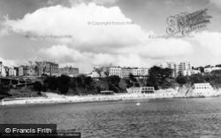 Fourcroft Hotel From The Harbour c.1965, Tenby