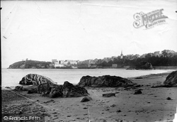 Tenby, From The Sands 1890