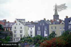 Tenby, Georgian Houses And St Mary's Church c.2000