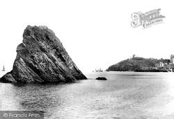 Tenby, Goscar Rock 1890
