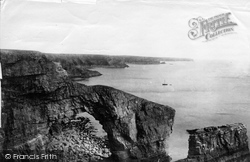 Tenby, Green Bridge Stacks 1890