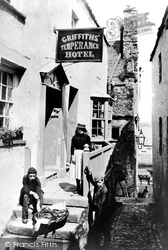 Tenby, Griffiths' Temperance Hotel 1890