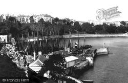 Tenby, Harbour 1890