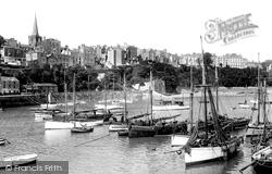 Tenby, Harbour 1925