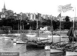 Tenby, Harbour c.1925