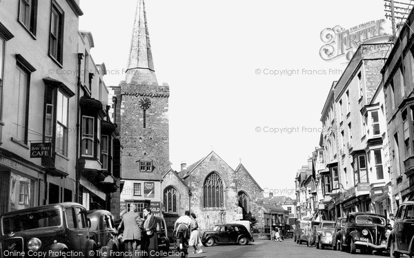 Photo of Tenby, High Street 1950
