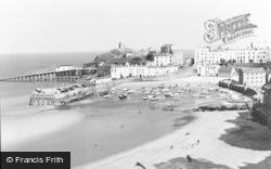 Low Tide c.1960, Tenby