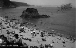 North Beach 1949, Tenby