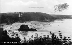 North Sands And North Cliffs c.1925, Tenby