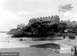 Tenby, South Sands c.1925