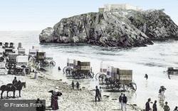 St Catherine's Rock 1890, Tenby