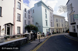 St Julian's Street And East Rock House c.2000, Tenby
