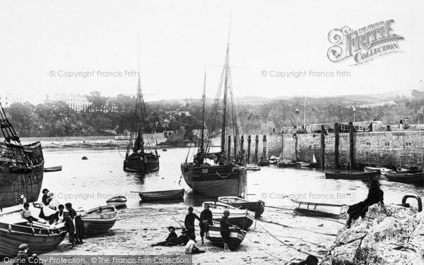 Photo of Tenby, the Harbour 1890