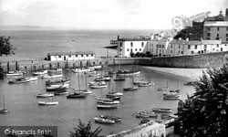 Tenby, The Harbour 1950