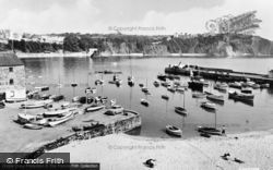 The Harbour c.1960, Tenby