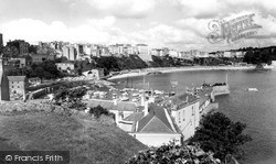 Tenby, The Harbour c.1960