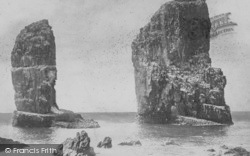 Tenby, The Stacks 1890