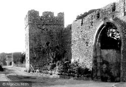 Tenby, Town Walls 1890