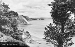 View From Fourcroft Hotel c.1960, Tenby