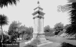 Tenby, War Memorial 1925
