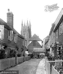 Tenterden, Bells Lane 1902