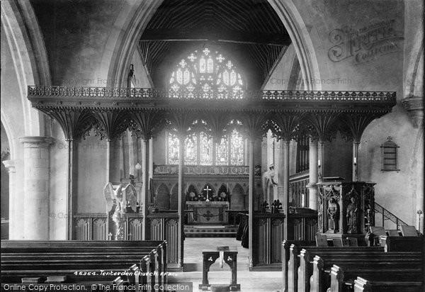 Photo of Tenterden, Church Interior 1901